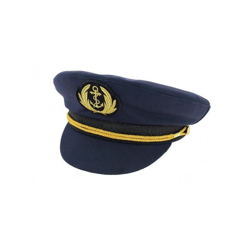 Cappello da marinaio autentico COMODORE Blu oltremare 707a3aa510c1