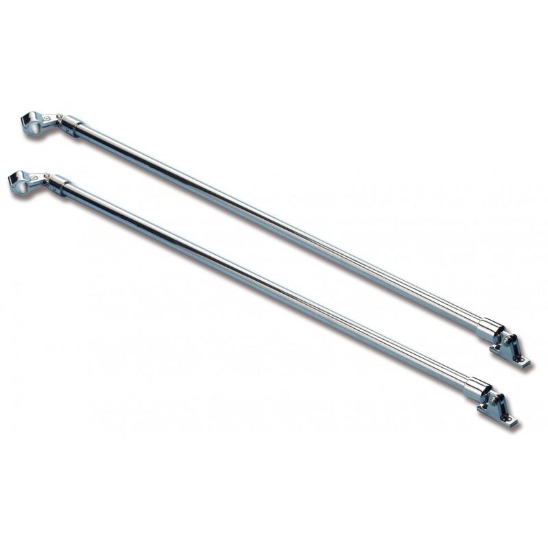 Barre per capottina acciaio inossidabile x2